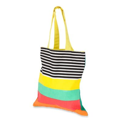 Sunnylife® Avalon Striped Cotton Canvas Tote Bag