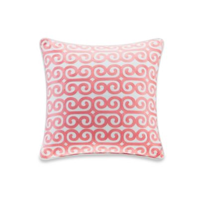 Echo Design™ Madira Square Throw Pillow in Ivory