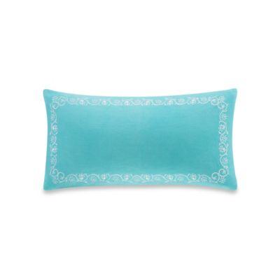 Echo Design™ Madira Border Oblong Throw Pillow in Teal