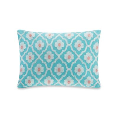 Echo Design™ Madira Oblong Throw Pillow in Teal