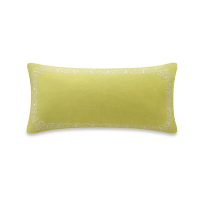 Echo Design™ Madira Border Oblong Throw Pillow in Yellow