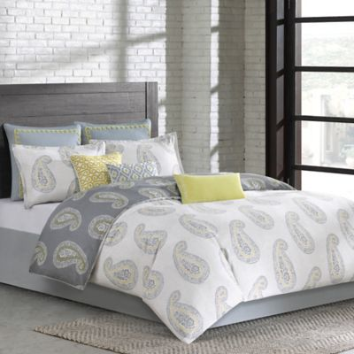 Echo Design™ Madira Reversible King Comforter Set in Coral