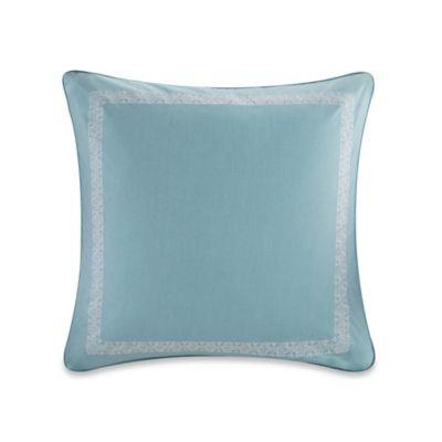 Echo Design™ Indira European Pillow Sham in Aqua