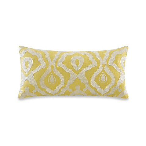 Echo Design Indira Oblong Throw Pillow in Yellow - Bed Bath & Beyond