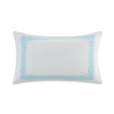 Echo Design™ Indira Oblong Throw Pillow in White