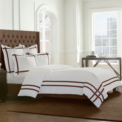 Wamsutta® Montenegro Full Comforter Set in Brown
