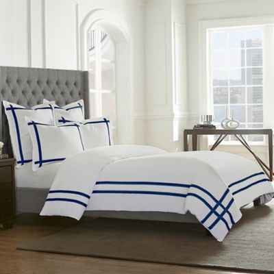 Wamsutta® Montenegro Standard Pillow Sham in Navy