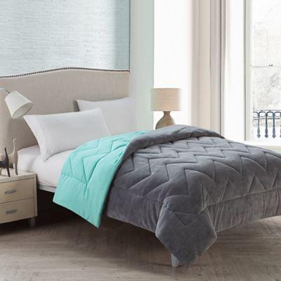 Turquoise Reversible Comforter