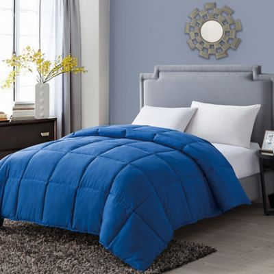 VCNY Paradise Reversible Down Alternative Full/Queen Comforter in Blue
