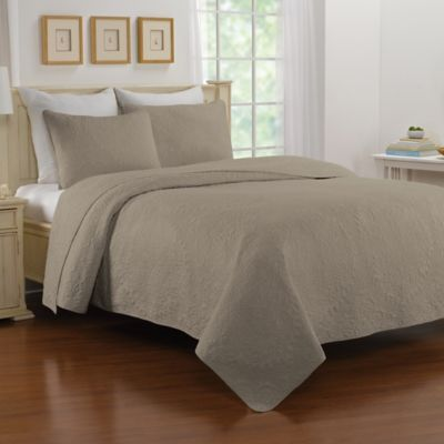 Nostalgia Home™ Saville Standard Pillow Sham in Marshmallow