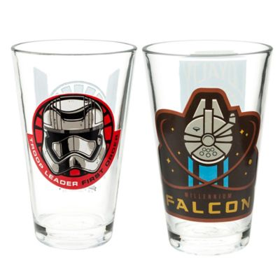 "Zak! Designs® ""Star Wars™ Episode VII: The Force Awakens"" Glass Tumblers (Set of 2)"