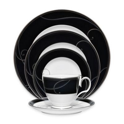 Noritake® Platinum Wave Ebony 5-Piece Place Setting