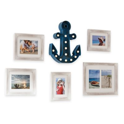 Wall Solutions 6-Piece Anchor and Frame Set