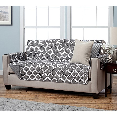 Adalyn Collection Reversible Sofa-Size Furniture ...