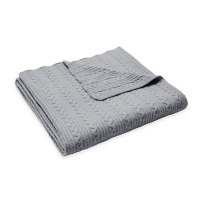 Cable Knit Throw Bedding