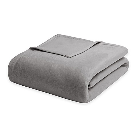 Buy Madison Park Twin Dream Soft Blanket In Grey From Bed