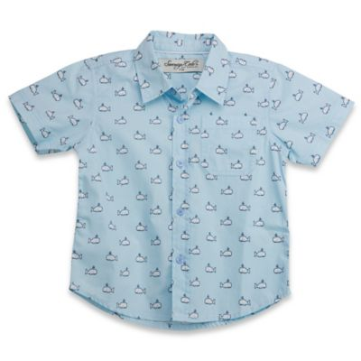 Sovereign Code™ Size 2T Whale Polo Shirt in Blue