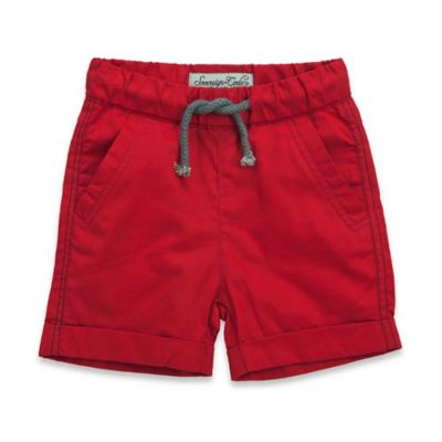 Sovereign Code™ Size 0-3M Twill Short in Red