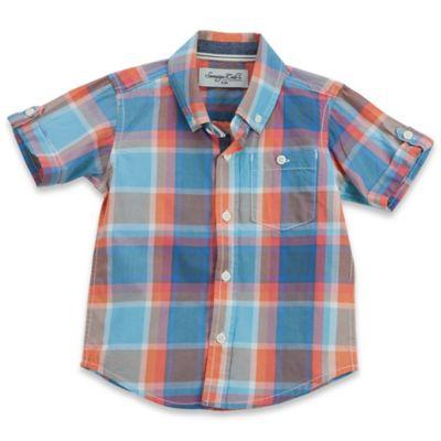 Orange/Blue Plaid Baby & Kids