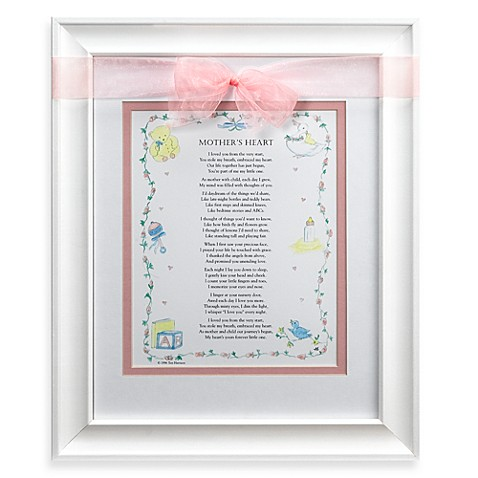 Mother's Heart Frame in Pink