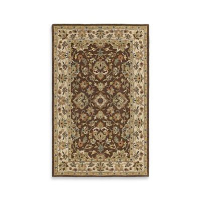 Kaleen Khazana St. George 5-Foot x 7-Foot 9-Inch Area Rug in Chocolate
