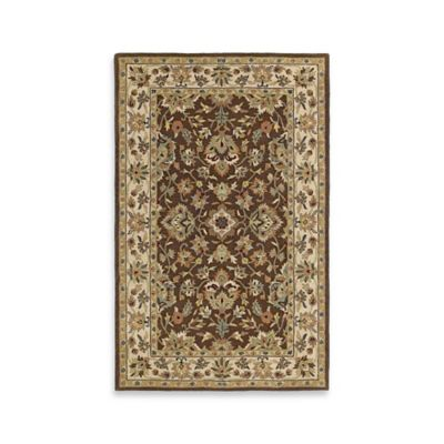 Kaleen Khazana St. George 8-Foot x 11-Foot Area Rug in Chocolate