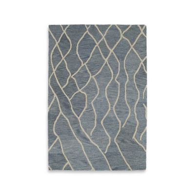 Kaleen Casablanca Knit 2-Foot x 3-Foot Accent Rug in Grey