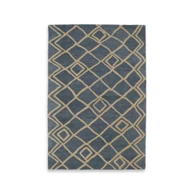 Kaleen Casablanca Diamonds 5-Foot x 8-Foot Area Rug in Ivory