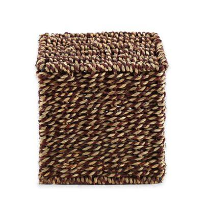 Baum Safari Seagrass Boutique Tissue Box Cover