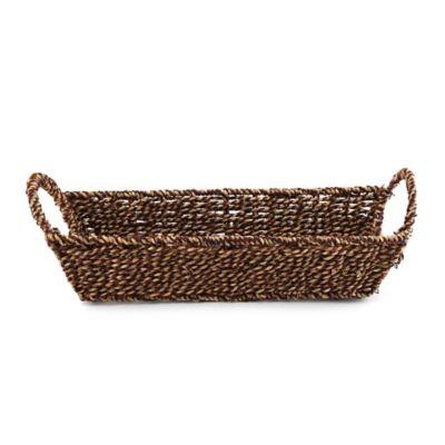 Safari Seagrass Tapered Vanity Basket