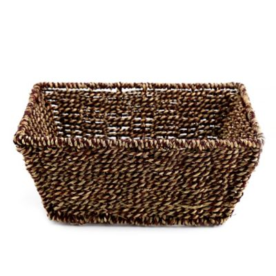 Safari Seagrass Vanity Basket