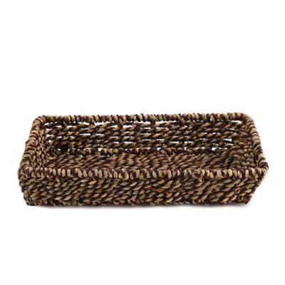 Safari Seagrass Guest Towel Holder