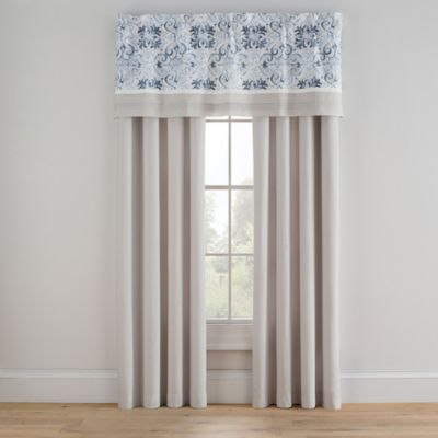 Bridge Street Porto 42-Inch Rod Pocket Window Curtain Panel Pair in Sand