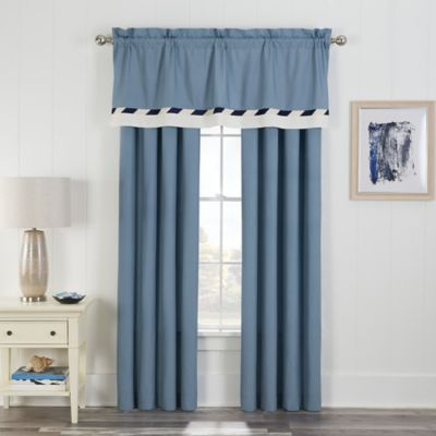Cotton Rod Pocket Window Panel