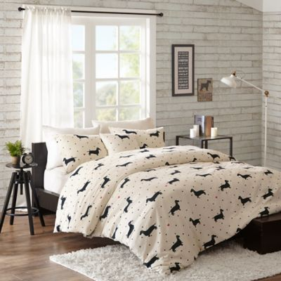 Madison Park HipStyle Olivia Full/Queen Duvet Cover Set in Natural