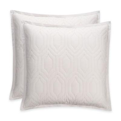 Bridge Street Porto European Pillow Sham in White