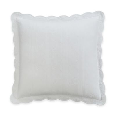 Williamsburg Burwell European Pillow Sham in White