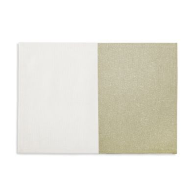 Waterford® Linens Half and Half Placemat in Gold