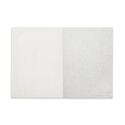Waterford® Linens Half and Half Placemat in Silver