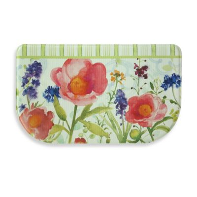 Bacova Merry Month of May 18-Inch x 30-Inch Memory Foam Kitchen Mat