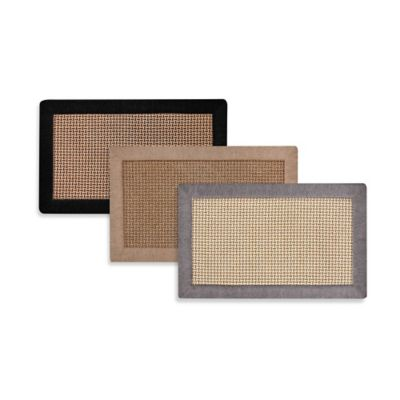Maplewood 24-Inch x 39-Inch Kitchen Mat in Black