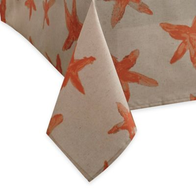 Croscill® Starfish 60-Inch x 102-Inch Oblong Tablecloth