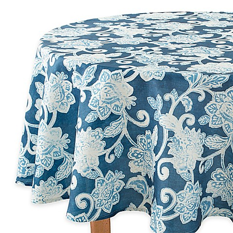 Buy Croscill 174 Trimbelle 60 Inch Round Tablecloth From Bed