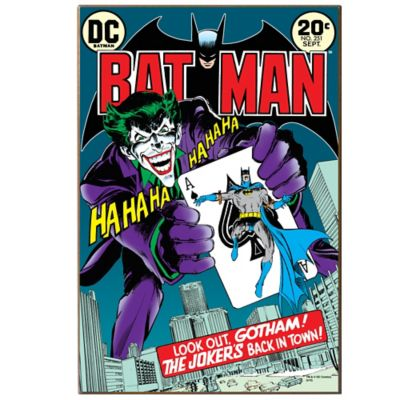 Batman The Joker Is Back Wall Décor Plaque