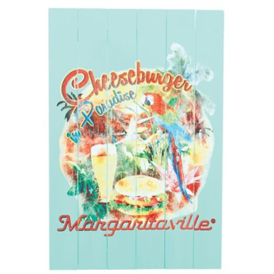 "Margaritaville® ""Cheeseburger in Paradise"" Outdoor Wall Art"