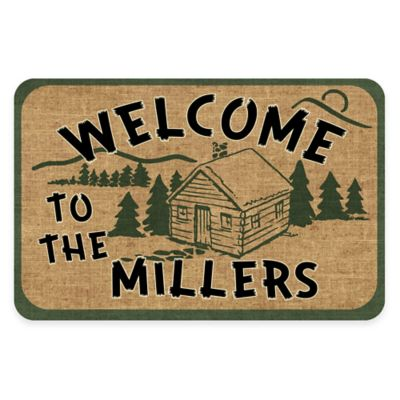 The Softer Side of Weather Guard™ Rustic Welcome 18-Inch x 27-Inch Kitchen Mat