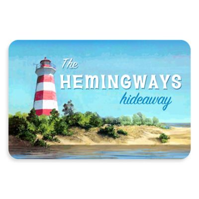 Bungalow Flooring The Softer Side by Weather Guard™ Lighthouse Hideaway18-Inch x 27-Inch Kitchen Mat