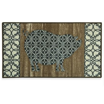 Brown Kitchen Rugs & Mats