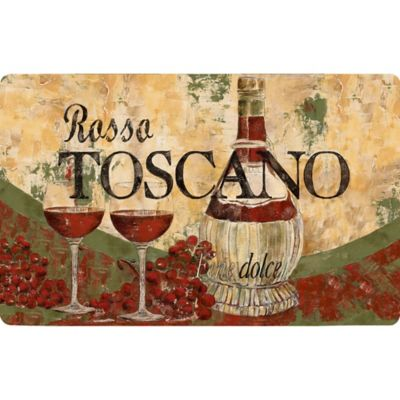 "Cushy Comfort 18-Inch x 30-Inch ""Rosso Toscano"" Anti-Fatigue Kitchen Mat"