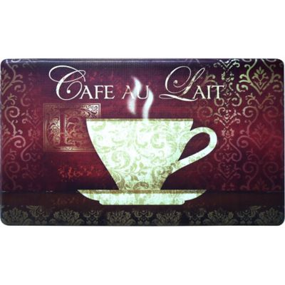 Cook N Comfort 35.4-Inch x 19.6-Inch New Coffee Anti-Fatigue Kitchen Mat
